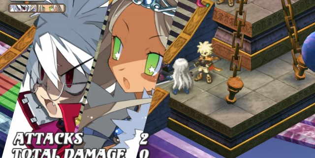 dis3vitaone 640x321 First Set Of English Vita Screens For Disgaea 3: Absence Of Detention