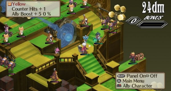 dis3vitathree e1323526112989 600x321 First Set Of English Vita Screens For Disgaea 3: Absence Of Detention
