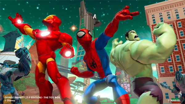 New Details For Disney Infinity 2.0: Marvel Super Heroes Emerge From E3