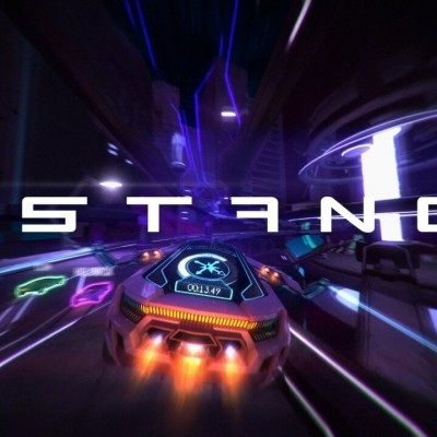 'Survival Racer Distance Comes To PlayStation 4 And VR In 2016' from the web at 'http://cdn.wegotthiscovered.com/wp-content/uploads/distancegame-400x400.jpg'
