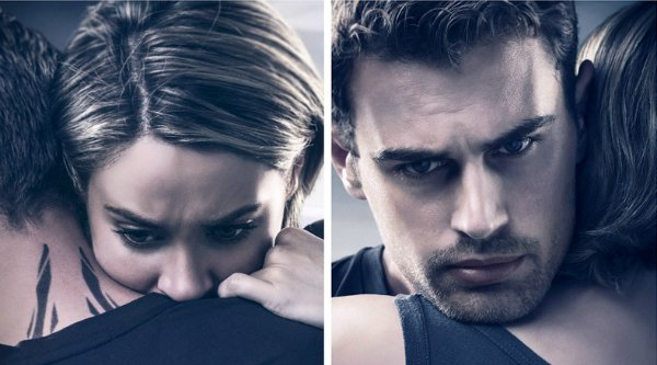 Brooding Character Posters For Allegiant Put Tris And Four's Love To The Test