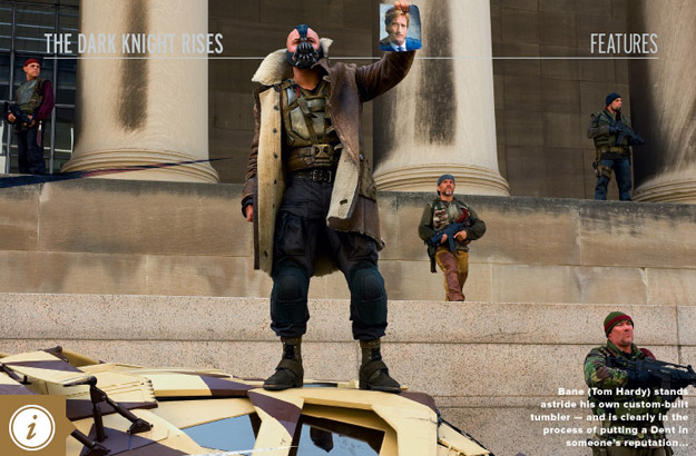 The Dark Knight Rises: New Photos And Prologue Release Confirmed For December 21st