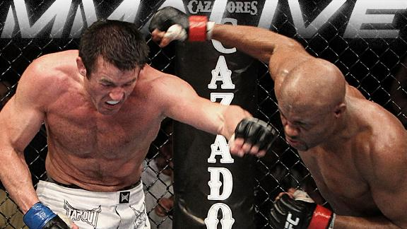 Anderson Silva Or Chael Sonnen: Who Do You Have Your Money On?