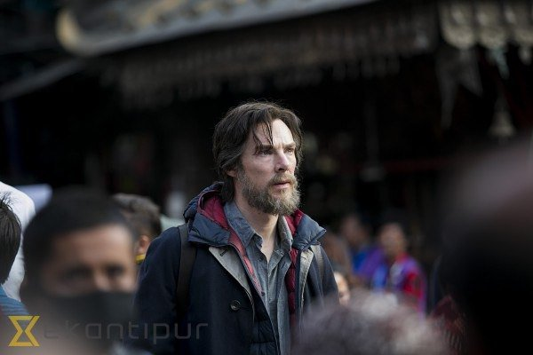 Doctor Strange Set Snaps Offer A Much Better Look At Benedict Cumberbatch In The Title Role