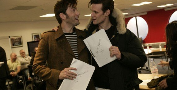 Doctor Who 50th Anniversary: Matt Smith And David Tennant Together, Zygons Return