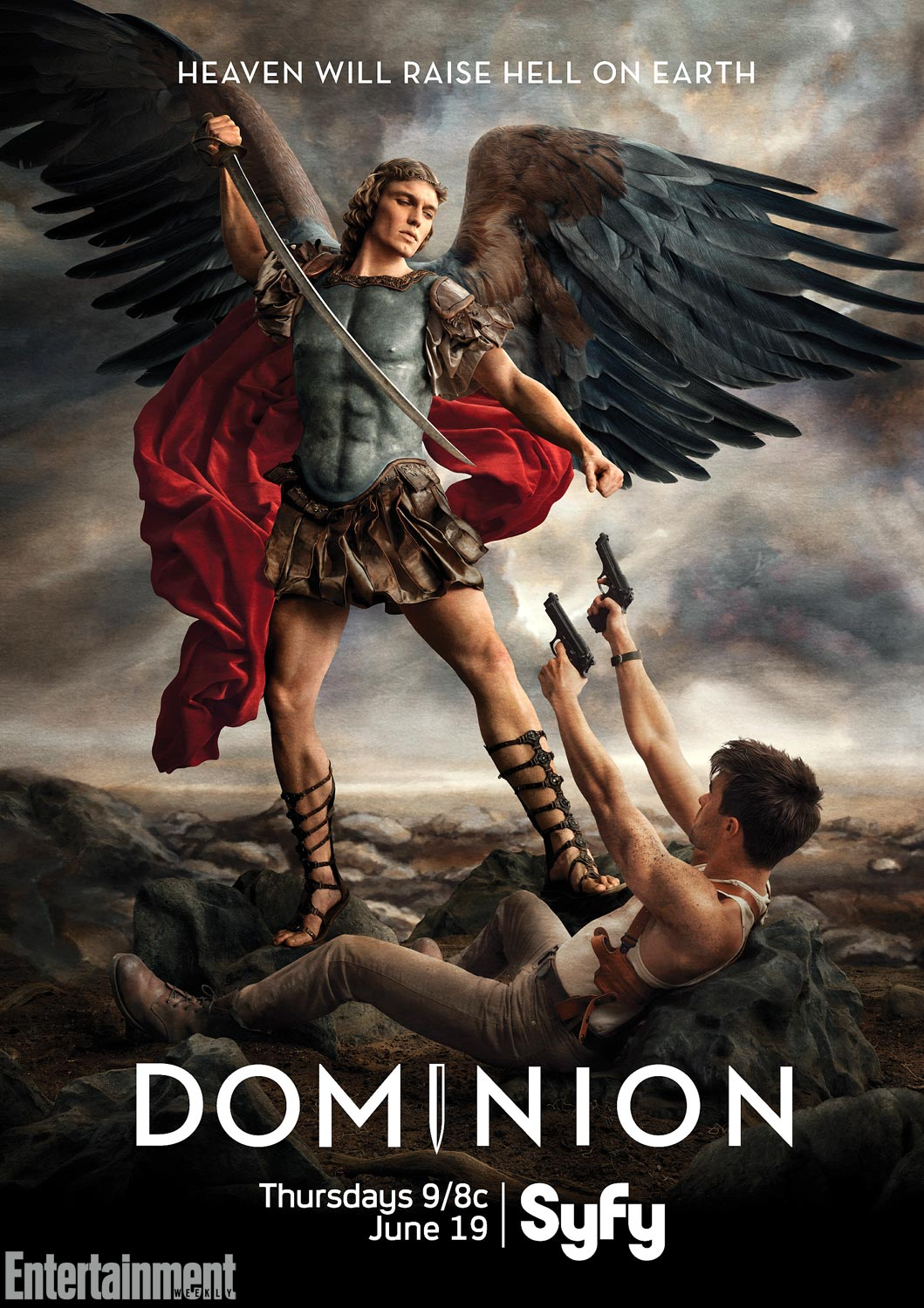 Heaven Raises Hell On Earth In Awesome First Poster For Syfy's Dominion