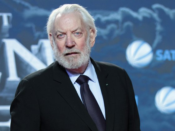 Donald Sutherland To Play President Snow In The Hunger Games