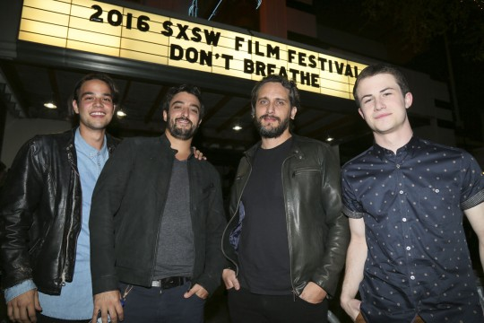 """Don't Breathe"" screening during the South by Southwest Film Festival in Austin, Texas on Friday, March 11, 2016. (Photo by Jack Plunkett)"