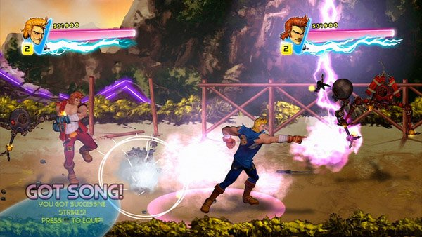 Double Dragon: Neon Free For PSN Plus, New Gameplay Video