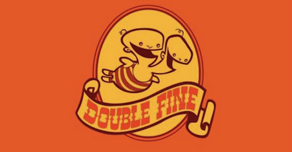 double fine logo The Cave Is Not Double Fines Kickstarter Game