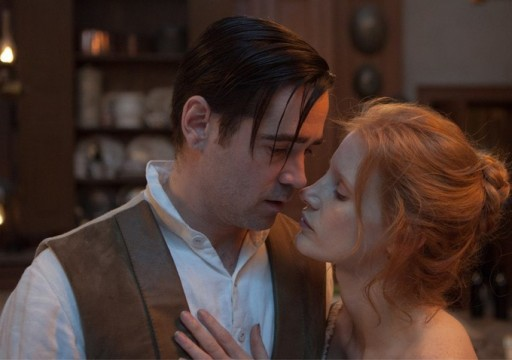First Official Look At Jessica Chastain And Colin Farrell In Miss Julie