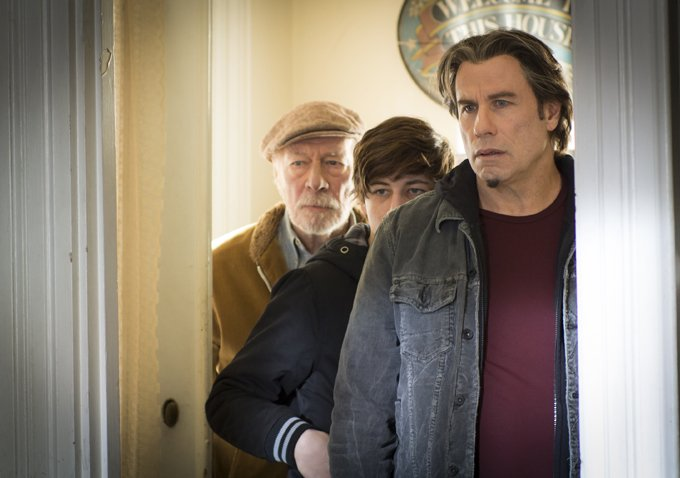 John Travolta, Christopher Plummer & Tye Sheridan In First Photo From The Forger