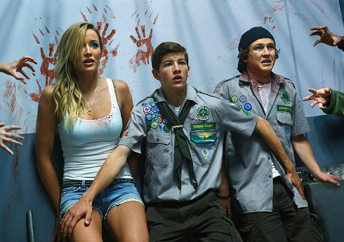 NSFW Clip For Scouts Guide To The Zombie Apocalypse Is Gleefully Violent