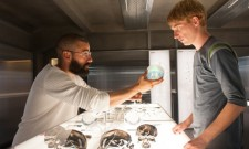 First Look At Oscar Isaac And Domhnall Gleeson In Ex Machina