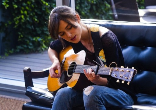 Keira Knightley Plays For Her Cat In New Begin Again Clip