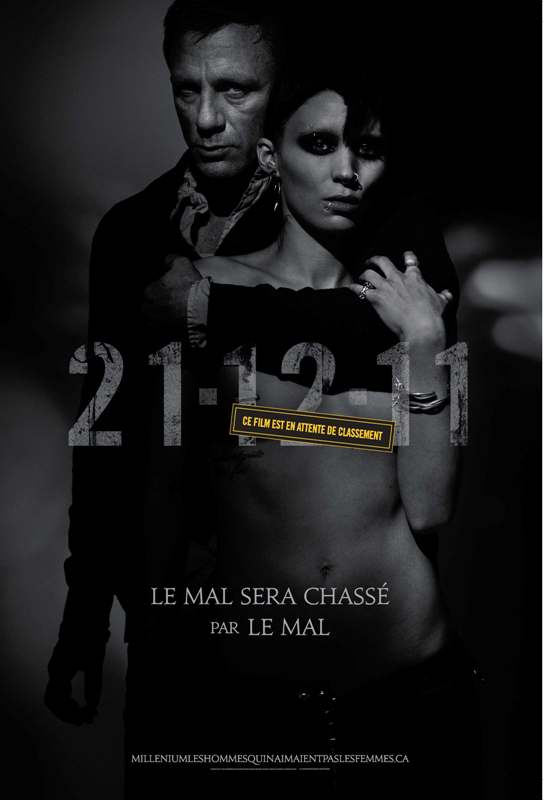 International Poster For The Girl With The Dragon Tattoo