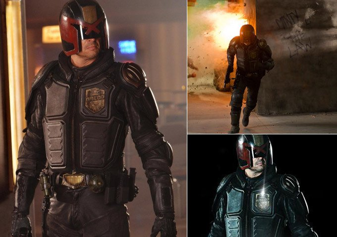 Gritty Photos Released For Dredd