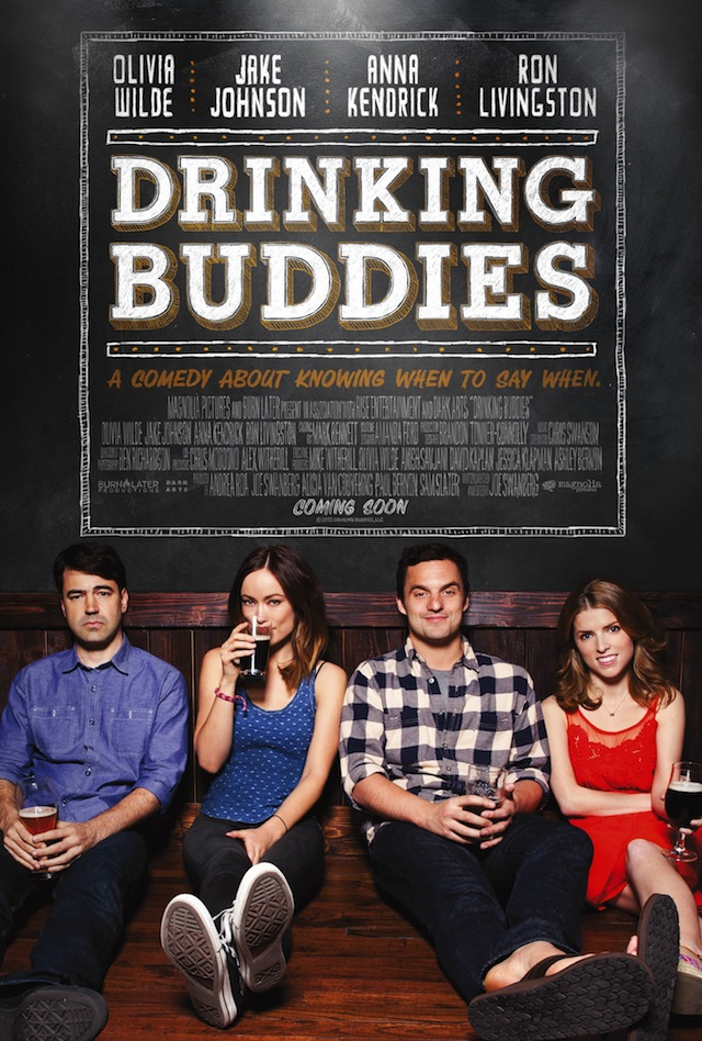Drinking Buddies Olivia Wilde And Anna Kendrick Get Lit In New Poster