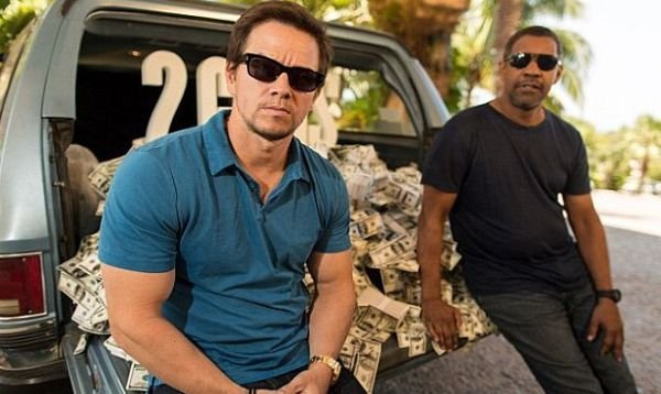 Press Conference Interview With Mark Wahlberg And Denzel Washington On 2 Guns