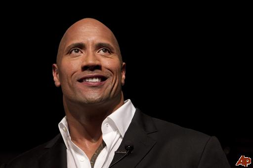"""Dwayne """"The Rock"""" Johnson And Taylor Lautner Offered Goliath And David"""