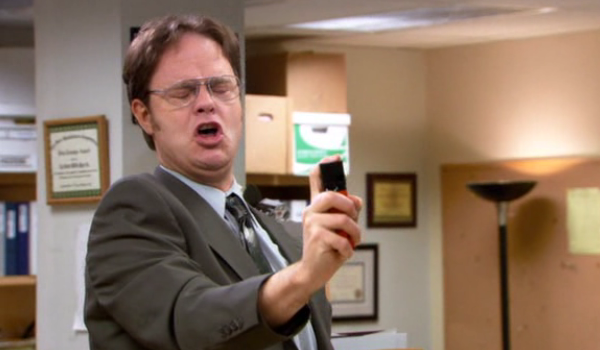 dwight pepperspray The Office: Top 10 Cold Opens