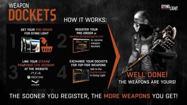 Register Your Dying Light Pre-Order To Receive Top-Tier Weapons