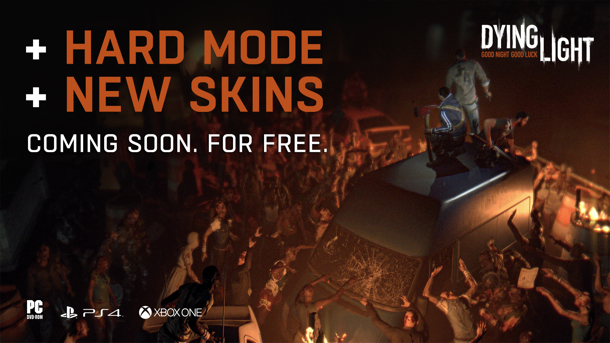 Dying Light Will Receive Free Hard Mode Update