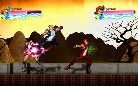 e3 double dragon neon 01 Double Dragon: Neon Review