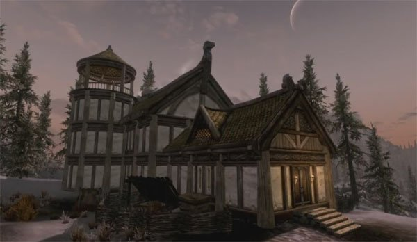 The Elder Scrolls V: Skyrim Hearthfire DLC Lets You Build Your Own Home