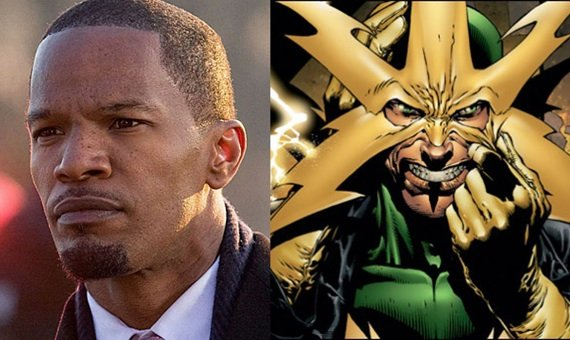 %name Jamie Foxx Opens Up On Electro Role For The Amazing Spider Man 2