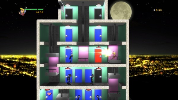 Elevator Action Deluxe Brings Revamped Verticality To PSN