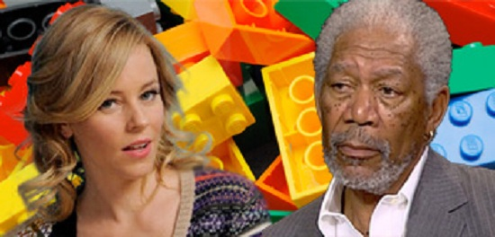 Morgan Freeman And Elizabeth Banks Join Lego: The Piece Of Resistance
