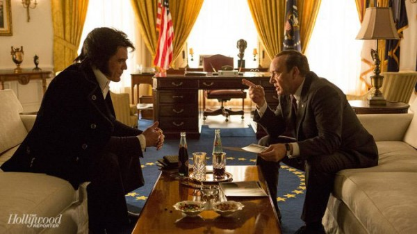 Frank Underwood Meets The King In First Image For Elvis & Nixon
