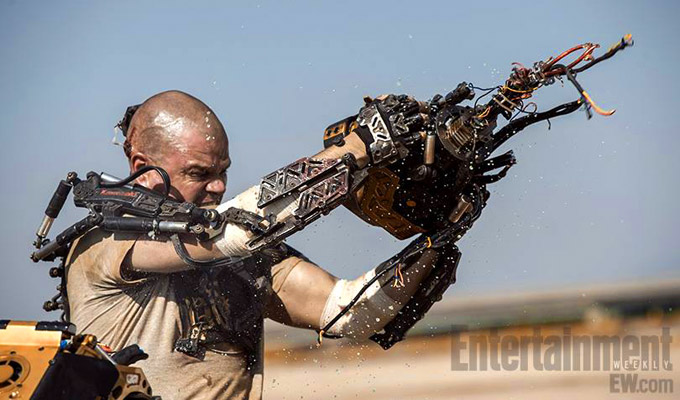 New Four-Minute Trailer, Clip, and Images From Elysium Hit