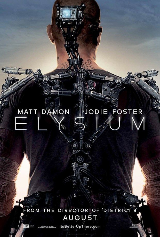 First Reactions To Elysium Plus A New Poster