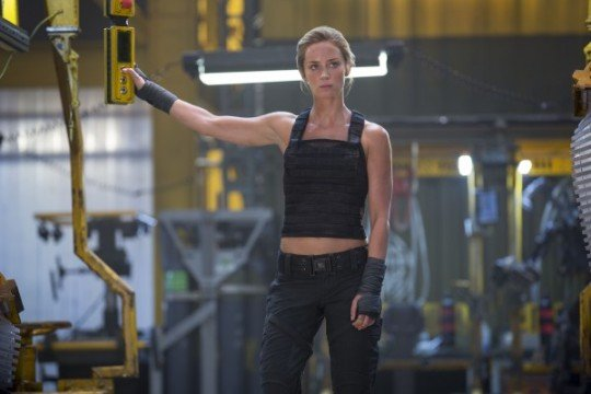 emily blunt edge of tomorrow 600x400 540x360 15 Female Action Heroes Who Can Kick Some Serious Ass