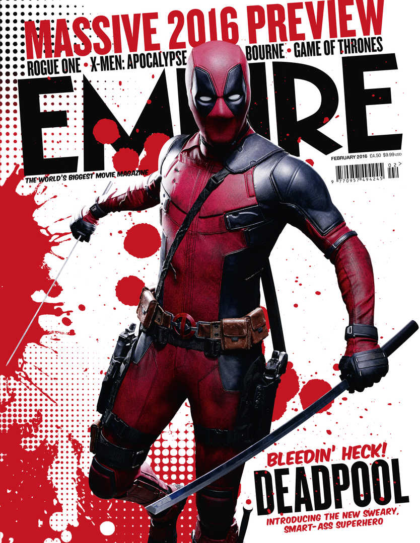 Deadpool's Empire Magazine Cover Officially Unveiled