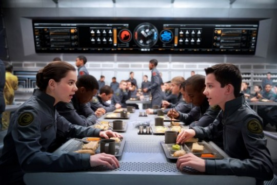 Check Out First Photo Of A Tattooed Ben Kingsley In Ender's Game