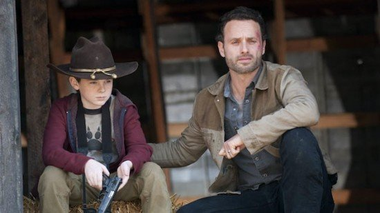 episode 12 carl rick e1331500151637 10 Reasons Why The Walking Dead Comic Is Better Than The TV Show