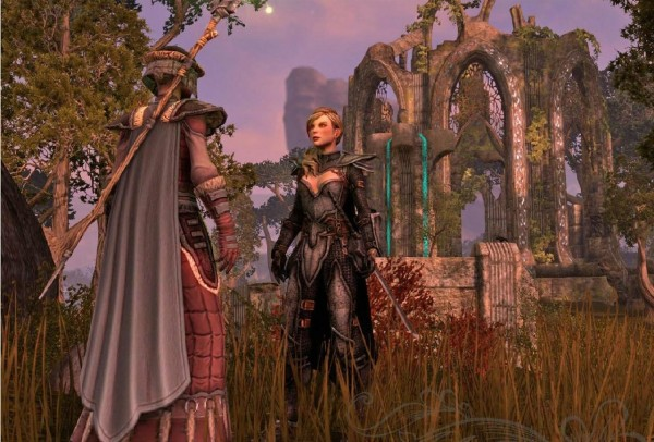 Details, Conceptual Artwork And A Reveal Trailer For The Elder Scrolls Online