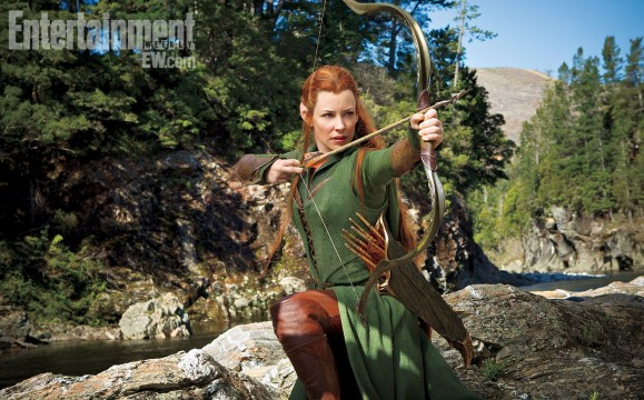 First Official Look At Tauriel In The Hobbit: The Desolation Of Smaug