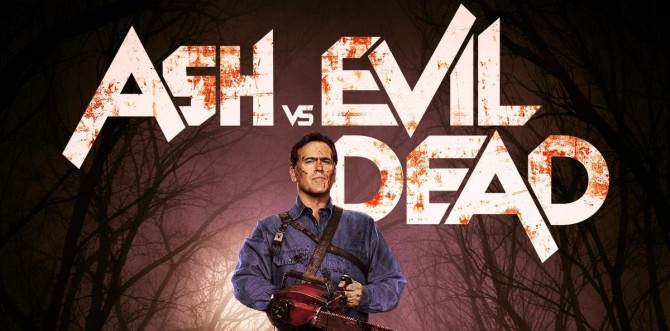 Bruce Campbell Stands Tall On New Ash Vs. Evil Dead Poster