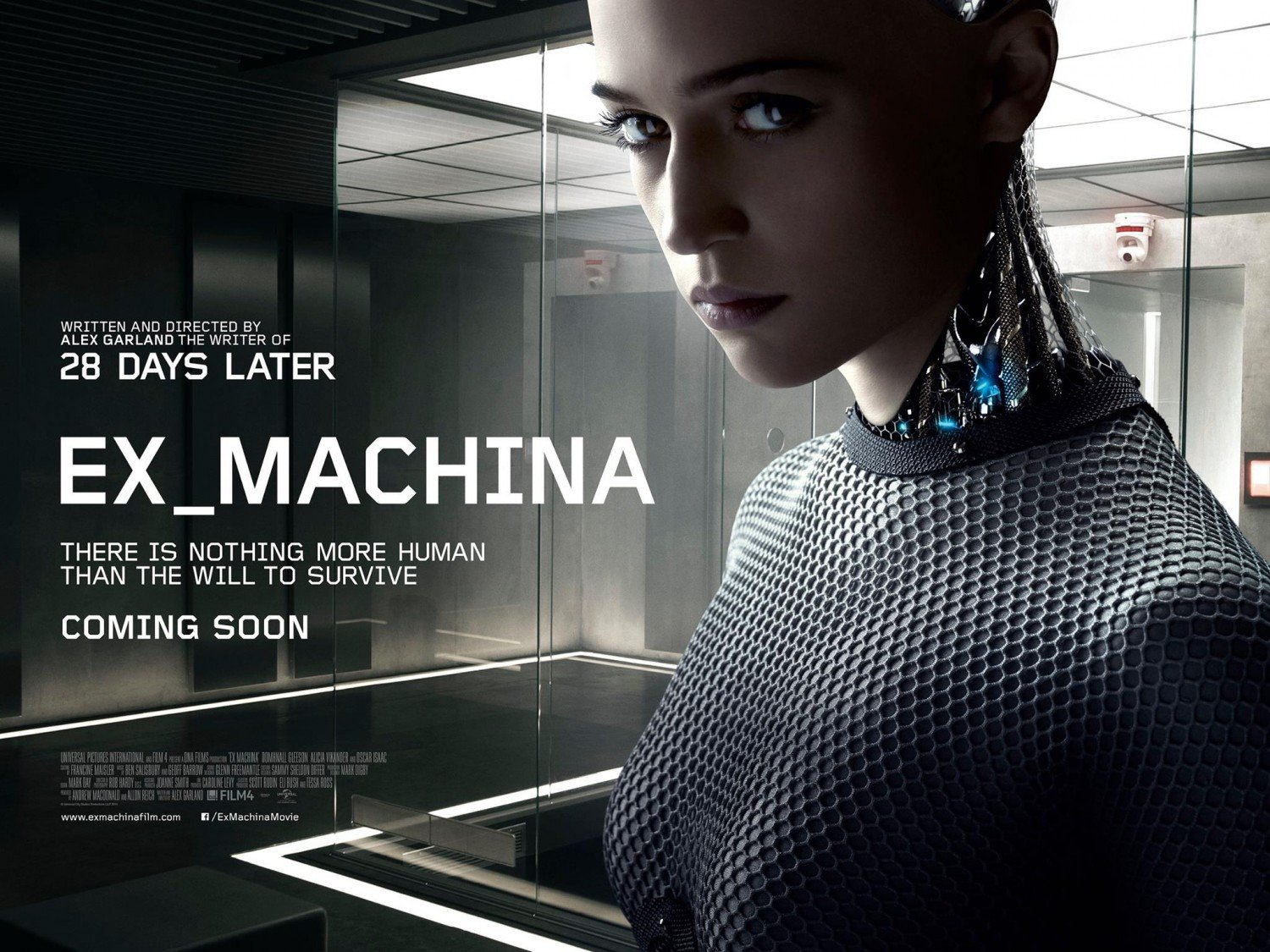 The Future Is Now In Teaser Poster For Alex Garland's Ex Machina