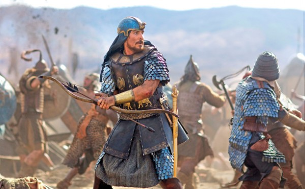 Christian Bale And Sigourney Weaver Sport Some Serious Headgear In New Exodus: Gods And Kings Images