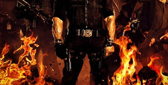 Final Poster For The Expendables 2 Is On Fire