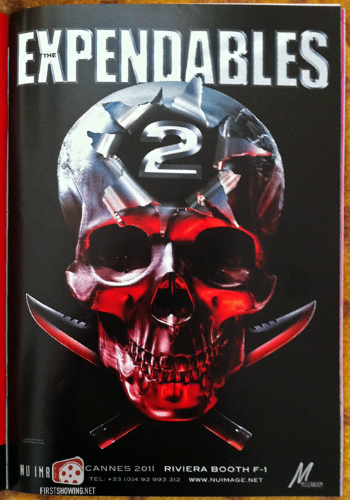 Early Poster And Plot Details For The Expendables 2