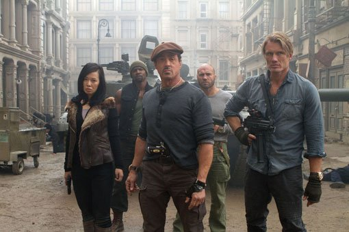 expendables2grp The Expendables 2 Blu Ray Review