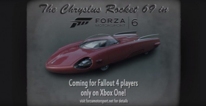 Forza Motorsport 6 Celebrates The Apocalypse With Fallout 4-Inspired Cars