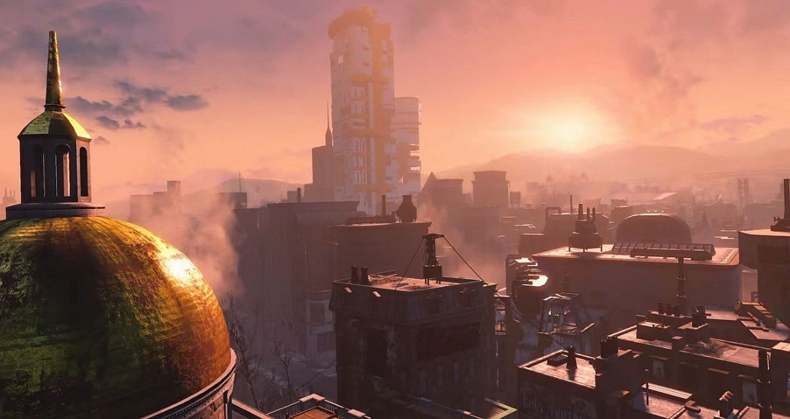 New Fallout 4 Screenshots Find Beauty In The Apocalypse; Retailers List RPG Sequel For 2015 Launch