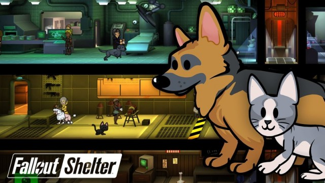 Latest Fallout Shelter Update Introduces Pets For All